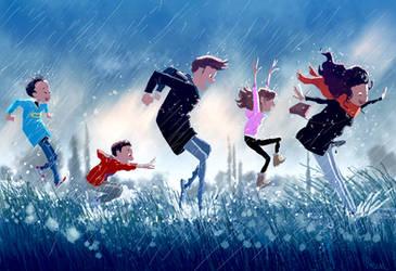 It s pouriiiiiing, it s rainiiiiing.. by PascalCampion