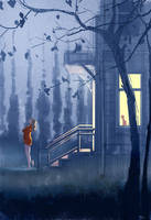 When it s cooler outside. by PascalCampion