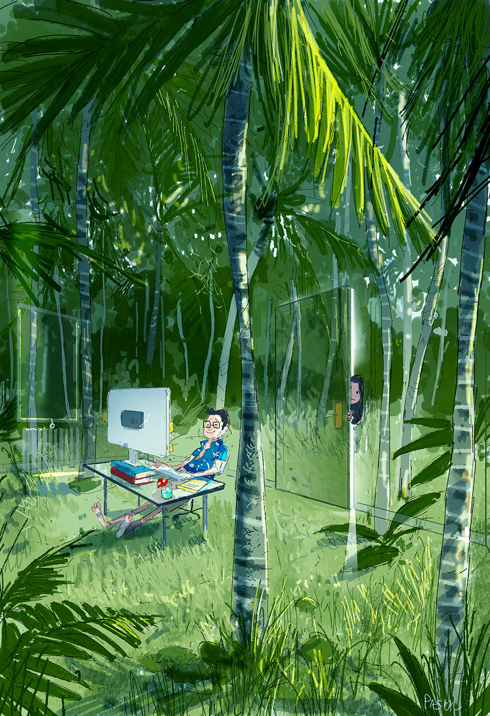 The Jungle Room by PascalCampion