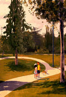 Somewhere in a park. by PascalCampion