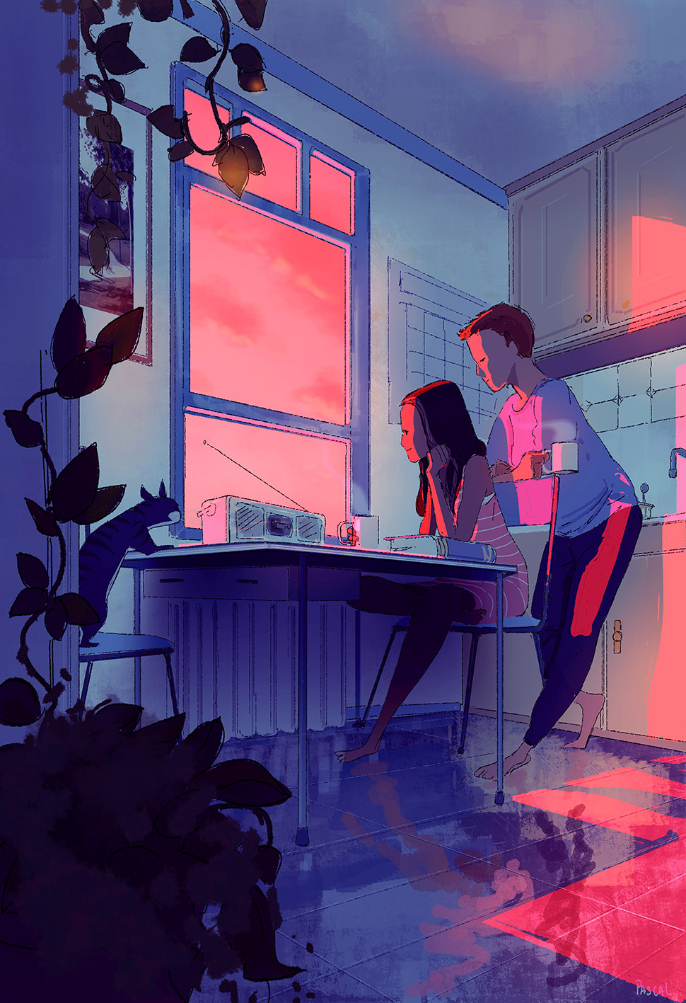 The end of another great weekend. by PascalCampion
