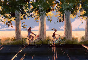 Ride n Shade by PascalCampion