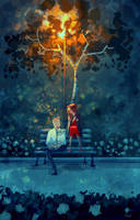 I can't even remember what we talked about. by PascalCampion
