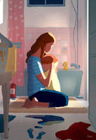 Bath Time Conversations by PascalCampion