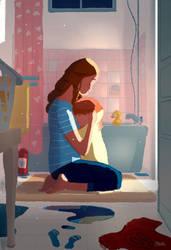 Bath Time Conversations by PascalCampion