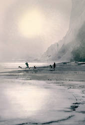 Foggy days at Fort Funston! by PascalCampion