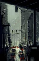 Around the corner by PascalCampion