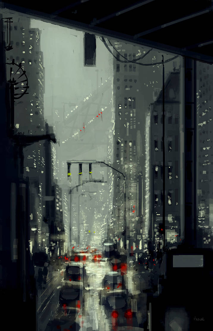 Around the corner by PascalCampion
