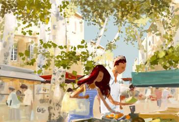 Market sketch. by PascalCampion