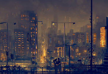 A little bit of warm a little of cold. by PascalCampion