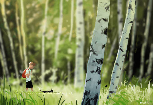 Promenons nous dans le bois