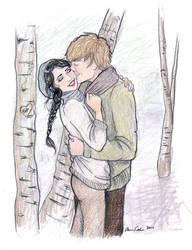 Katniss X Peeta by coleslawari