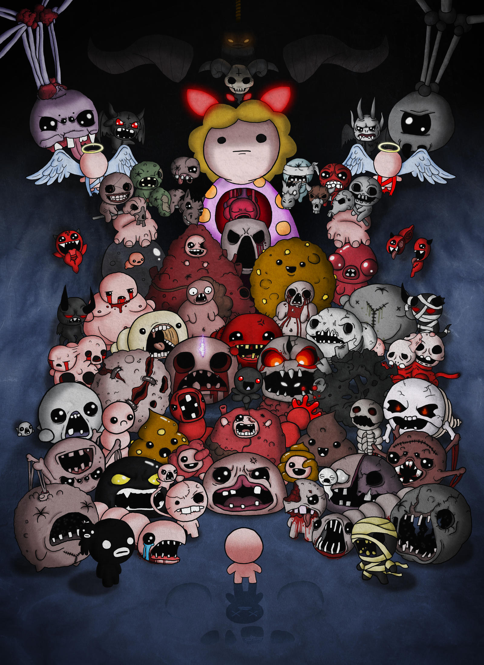 Binding Of Isaac Afterbirth All Bosses Complete By Jaego17 On