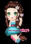 My new OC Julie by SweetyBat