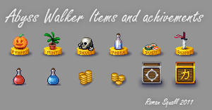 Items and achievements