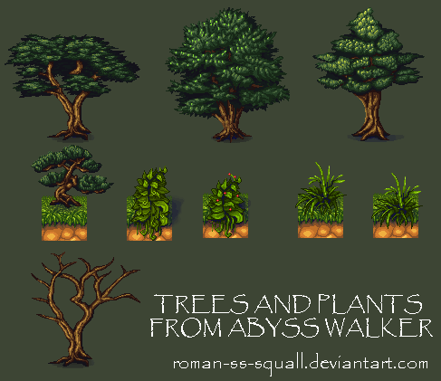 Trees and Plants by Roman-SS-Squall
