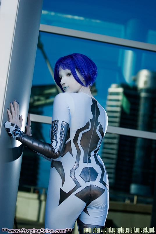 Cortana Cosplay by The-Cosplay-Scion