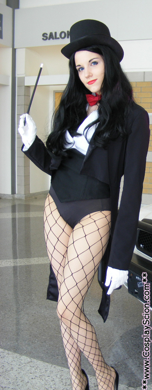 Zatanna Zatara teaser shot by The-Cosplay-Scion