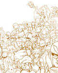 Brawl sketch
