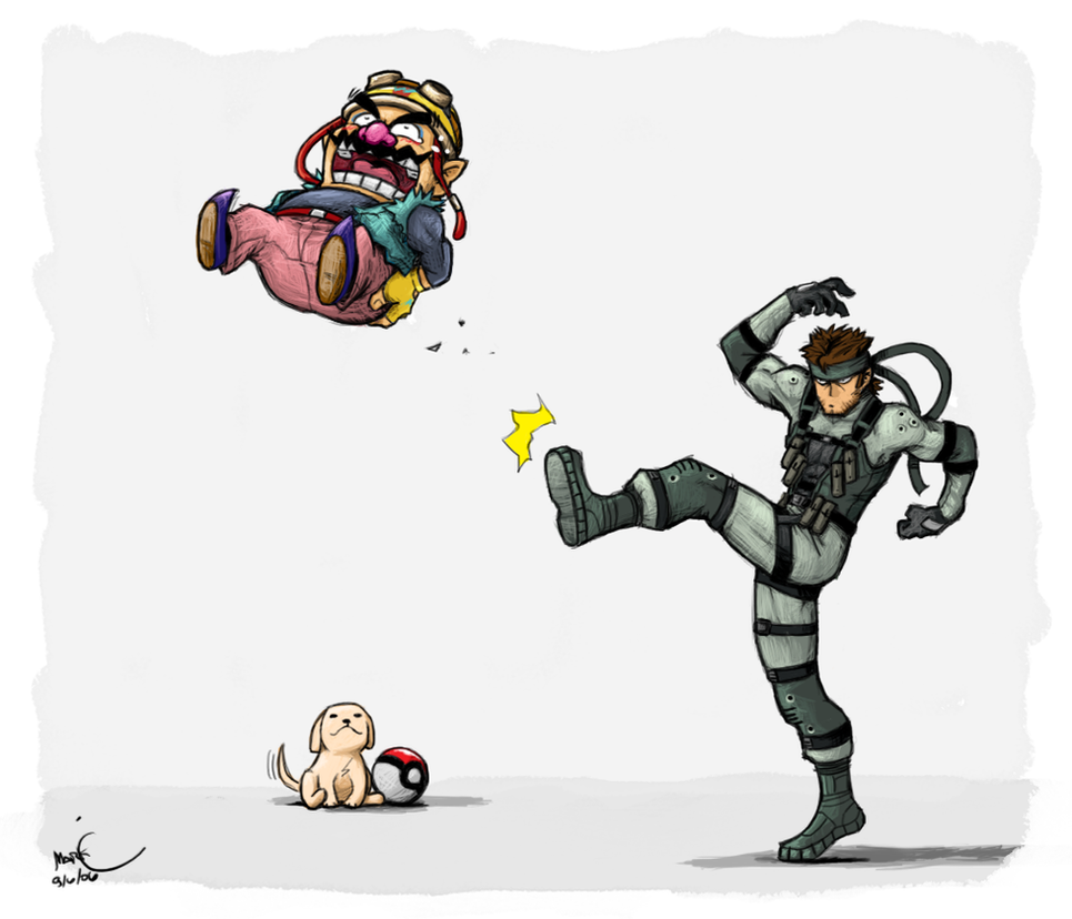 Solid Smash by Bonus-kun
