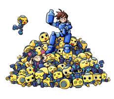Servbot Pile by Bonus-kun