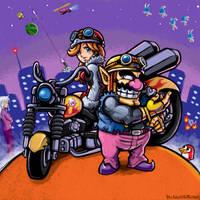 Funky Bikers by Bonus-kun