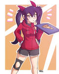 Pizza Girl by HowSplendid