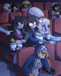 At the movies by HowSplendid