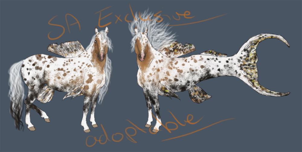 Open - Hippocampus Adoptable by Kalovantha