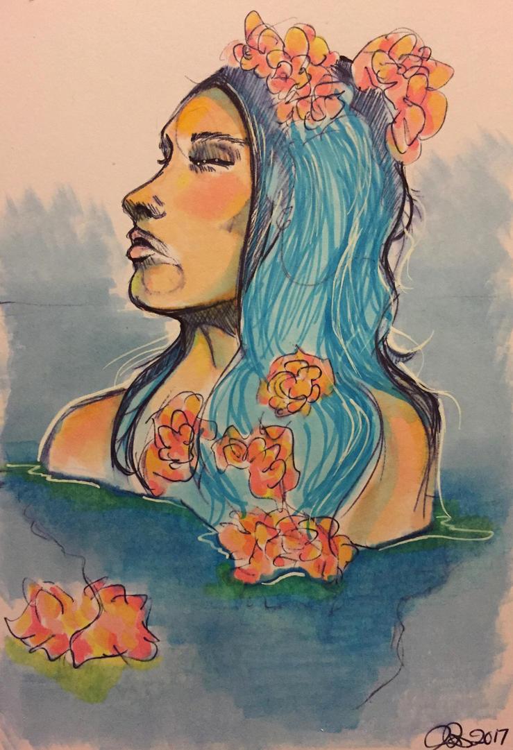 (Working title) Holly Blue by Nadroj-kun