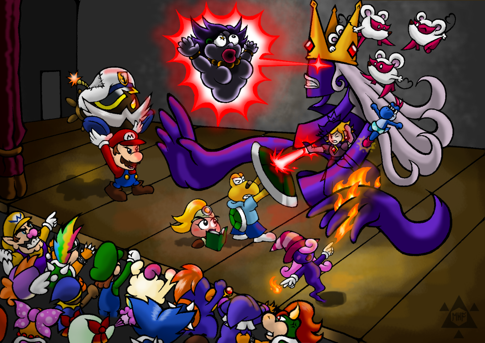 Homage To Paper Mario: TTYD By Edofenrir On DeviantArt