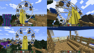Minecraft Ferris Wheel by Edofenrir