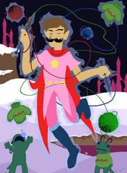Hamsteak fronds: Mage of Yarn (Homestuck) by Edofenrir