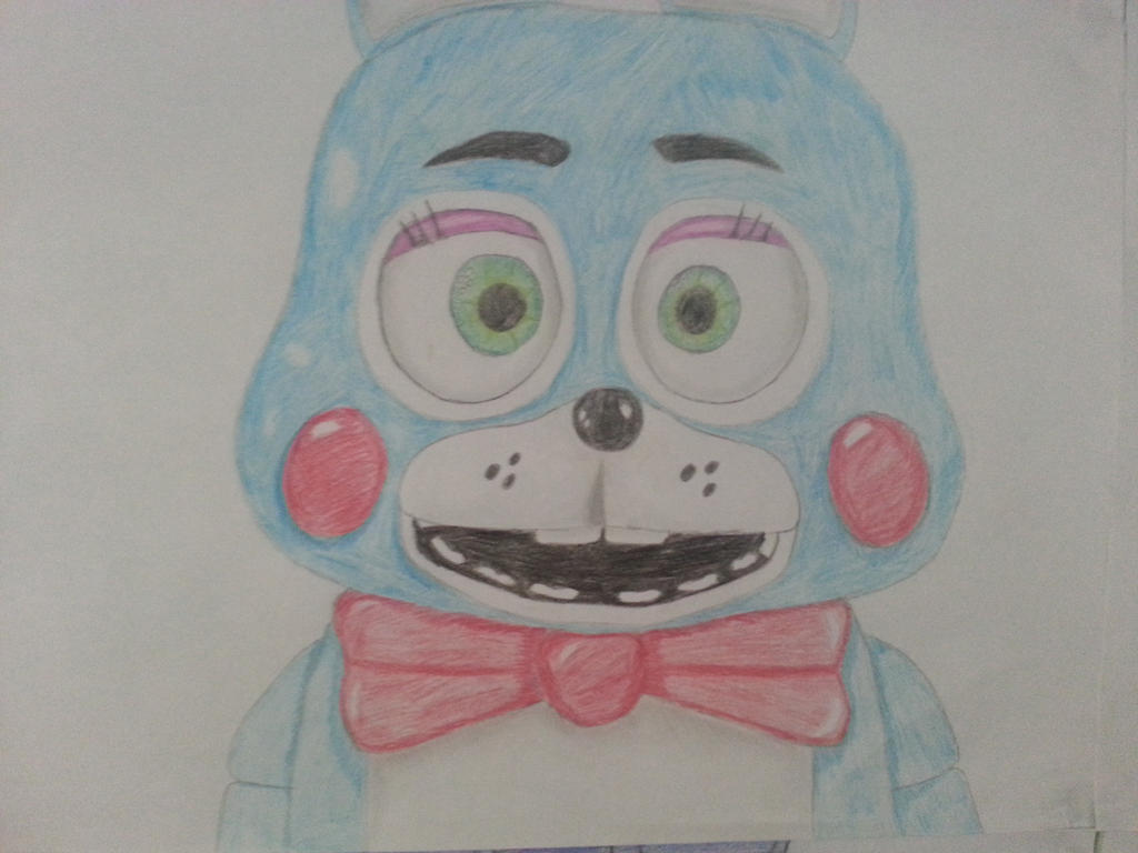 Five nights at freddy s 2 toy bunny by theaurora borealis on