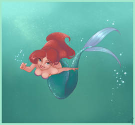 Ariel - The Little Mermaid by Hermes04