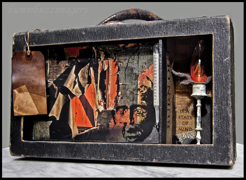 Burn-Out...assemblage by hummbuzz