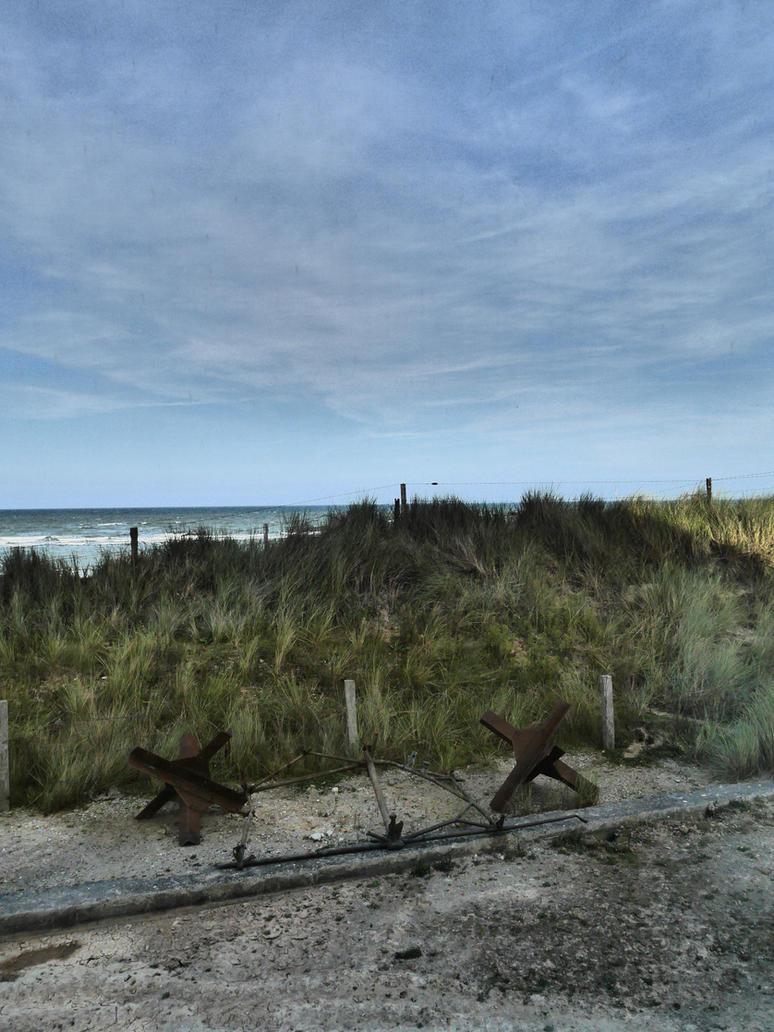 Utah Beach by Anellstock