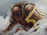 Chaos warrior of khorne