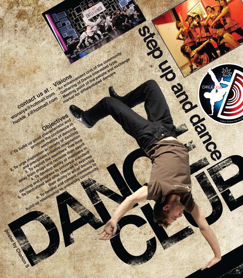 Poster design deviantart - Dance Club Poster Design By Nonark