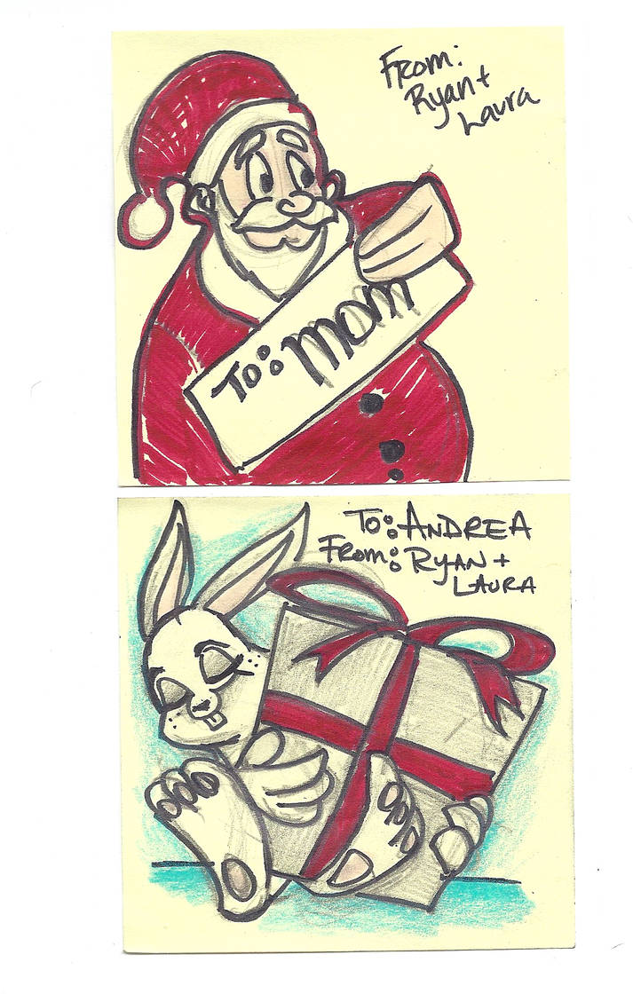 Christmas Sketchs 02 by rydirector01