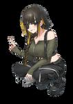 Transparent PNG - M16A1 (Girls' Frontline)
