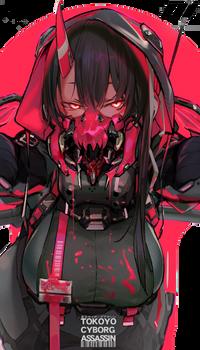 [Render Anime] Mask Girl