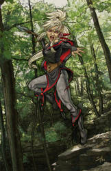 The Hunt, The Kill. PE Rnd 100 by ladyofdragons