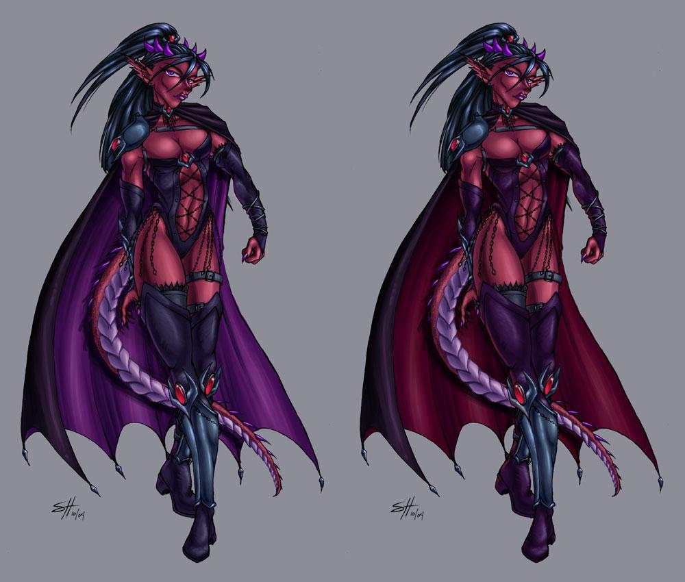 Dark Rilrae Design, WIP Update by ladyofdragons