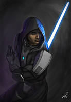 Jedi Guardian by DarthPonda