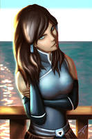 Avatar Korra by DarthPonda