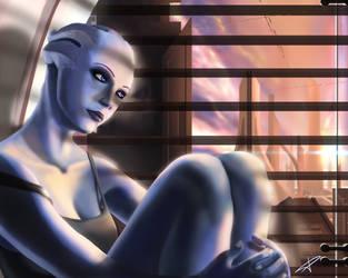 Mass Effect - Liara T'Soni by DarthPonda