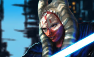 Star Wars - Jedi Master Shaak Ti by DarthPonda