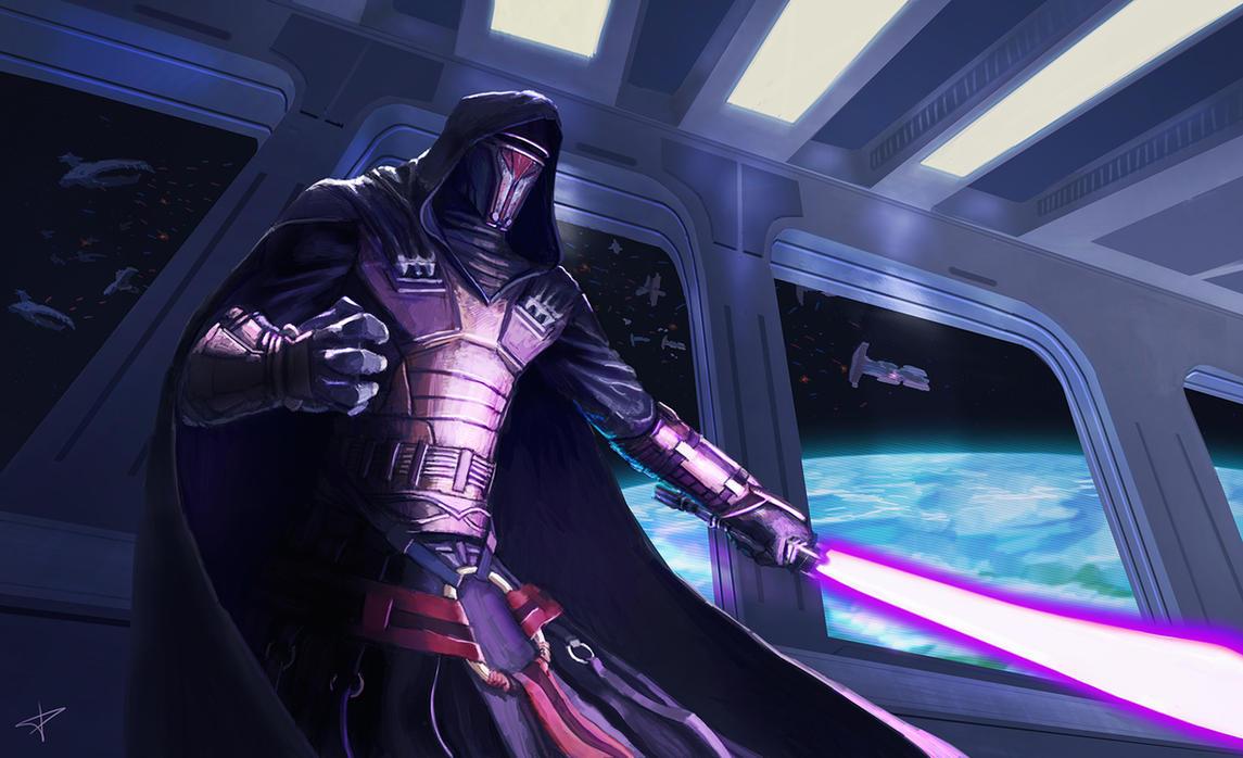 Star Wars - Darth Revan by DarthPonda on DeviantArt
