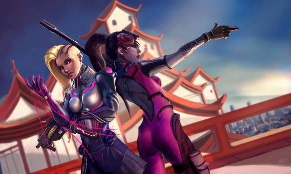 Overwatch - Talon's agents